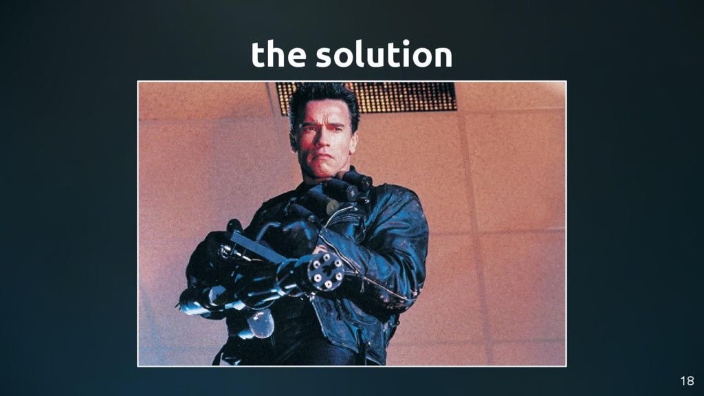 the solution 18
