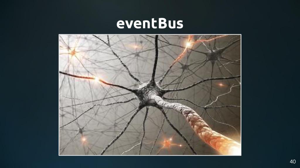 40 eventBus