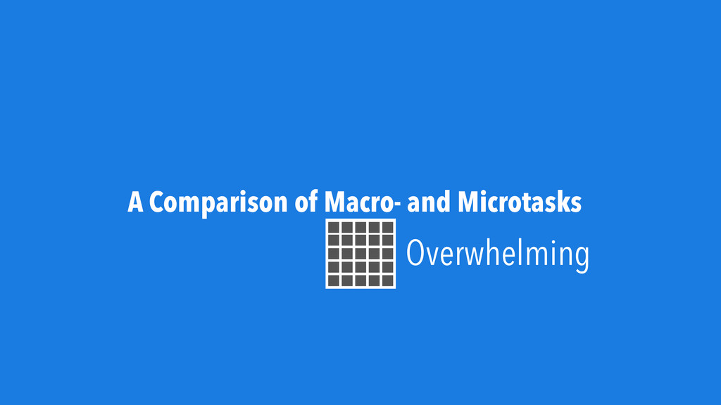 A Comparison of Macro- and Microtasks Overwhelm...