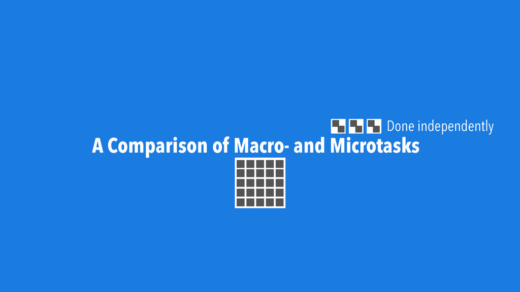 A Comparison of Macro- and Microtasks Done inde...