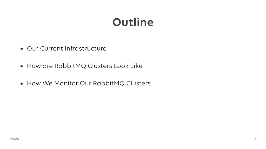 Outline Ŏ Our Current Infrastructure Ŏ How are ...