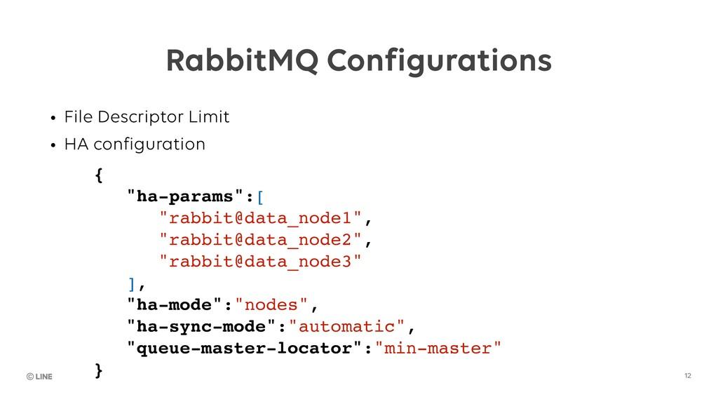 12 RabbitMQ Configurations • File Descriptor Li...