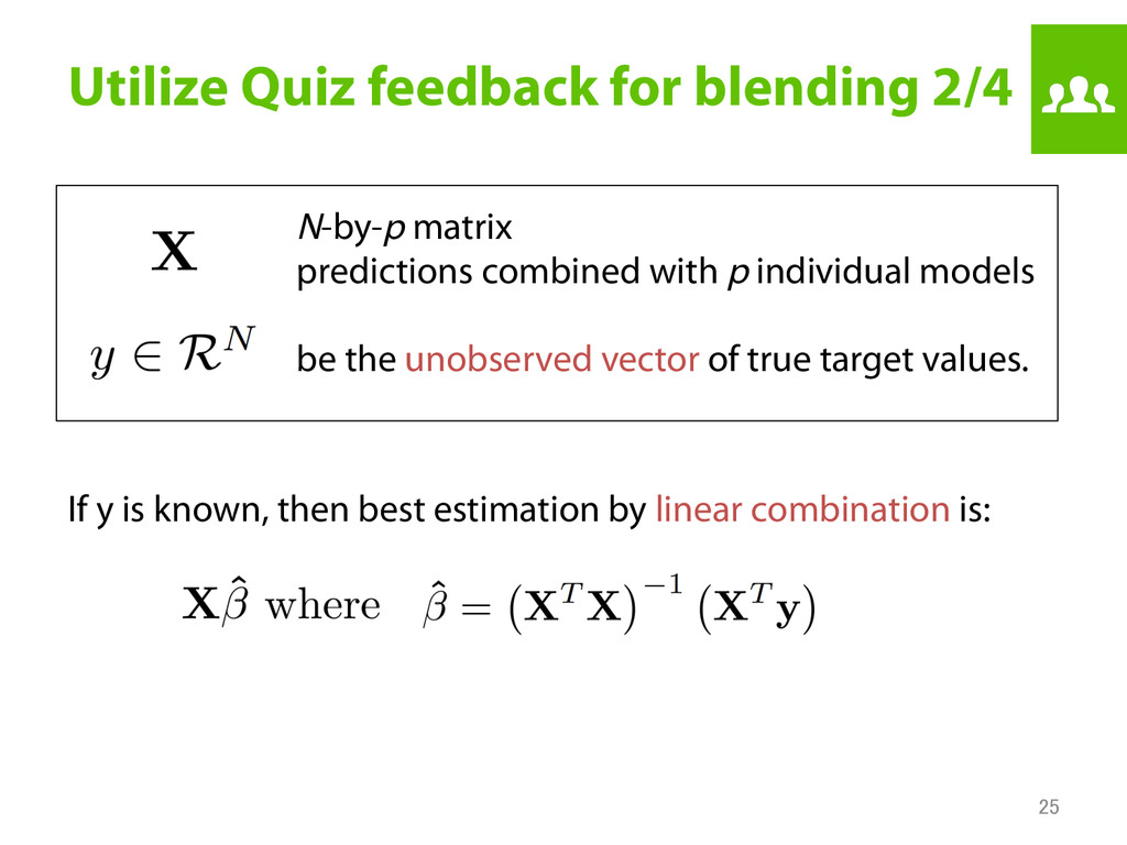 Utilize Quiz feedback for blending 2/4 If y is...