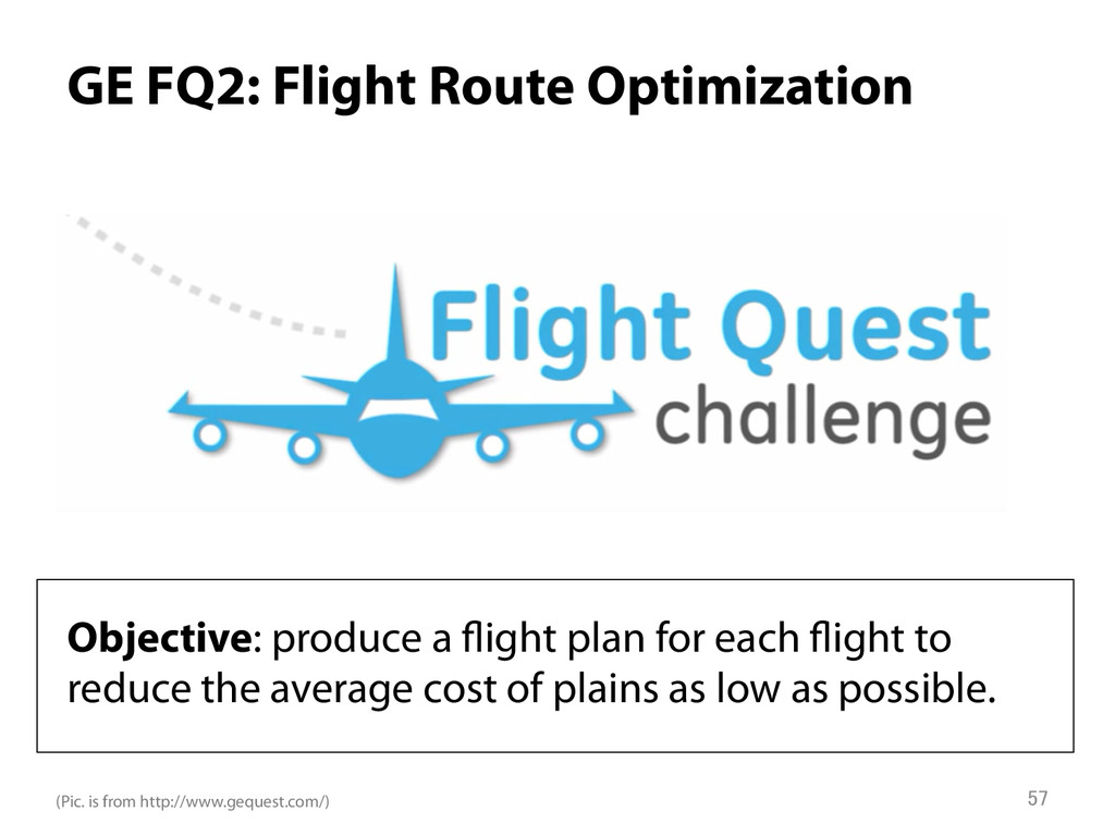 GE FQ2: Flight Route Optimization Objective: p...