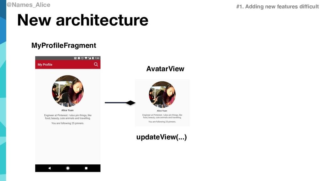 @Names_Alice New architecture MyProfileFragment...