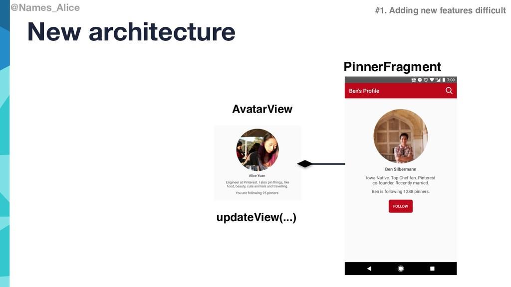 @Names_Alice New architecture PinnerFragment #1...