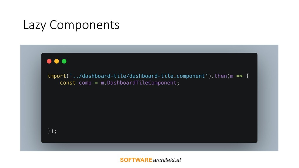 Lazy Components