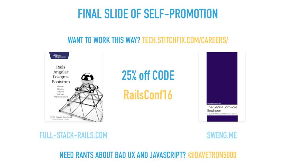 25% off CODE RailsConf16 FULL-STACK-RAILS.COM S...