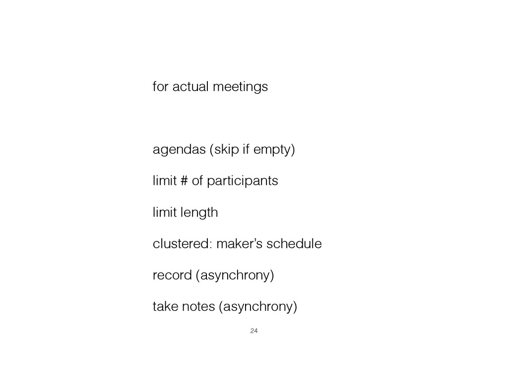 for actual meetings ! agendas (skip if empty) l...