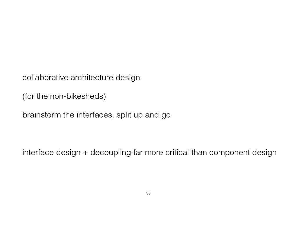collaborative architecture design (for the non-...