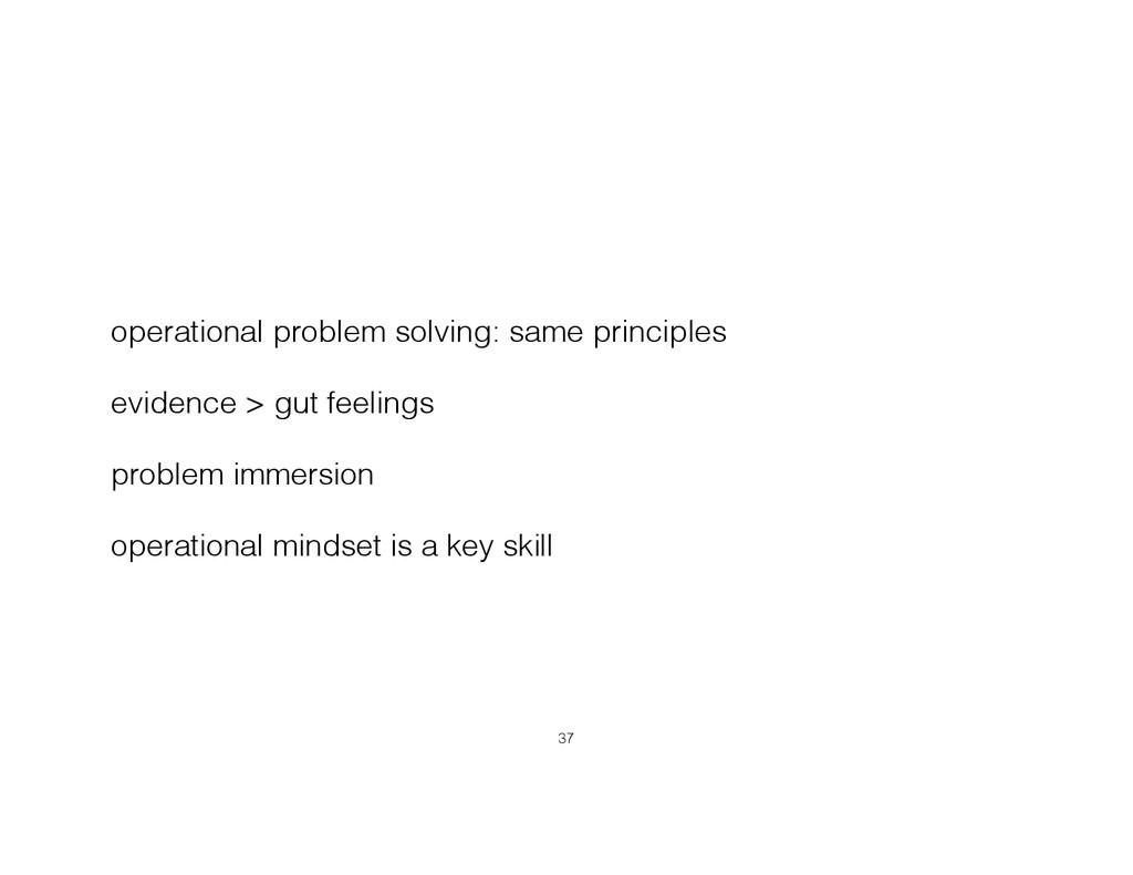 operational problem solving: same principles ev...