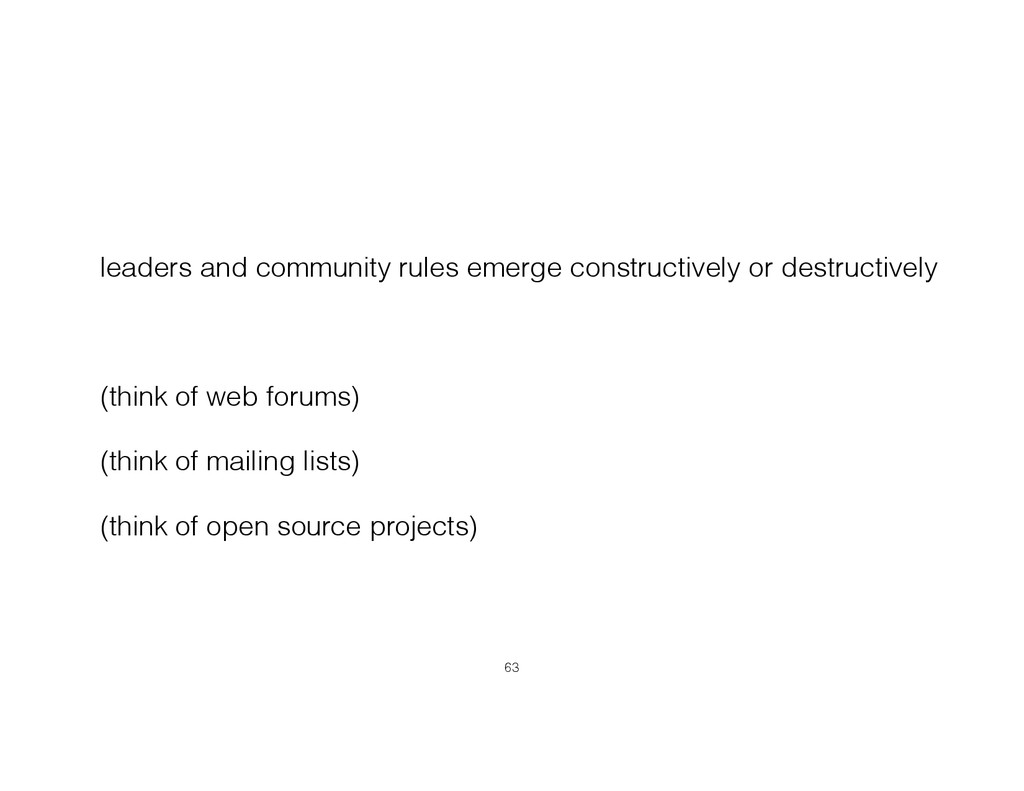 leaders and community rules emerge constructive...