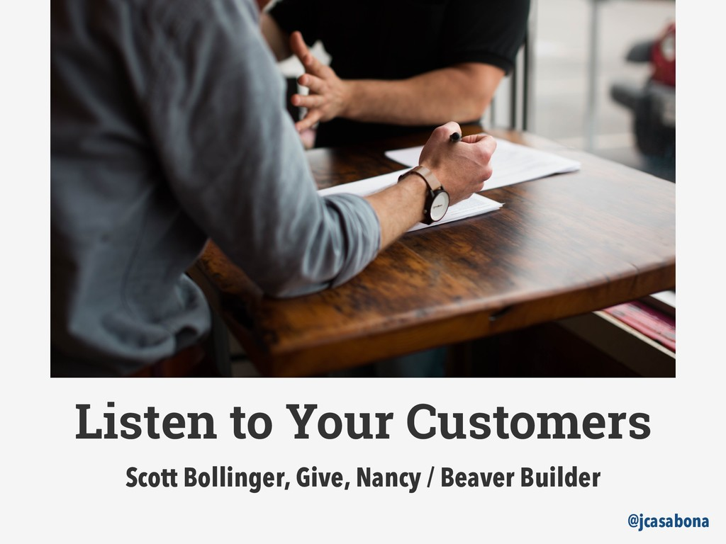 It's easier to sell to current customers than n...