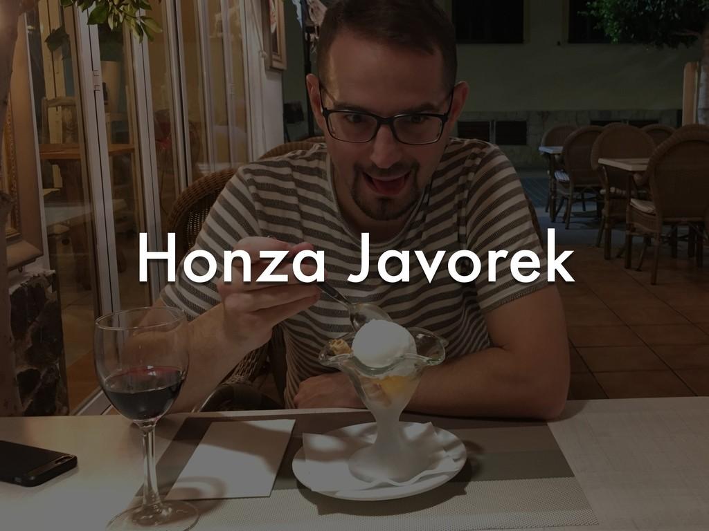 Honza Javorek