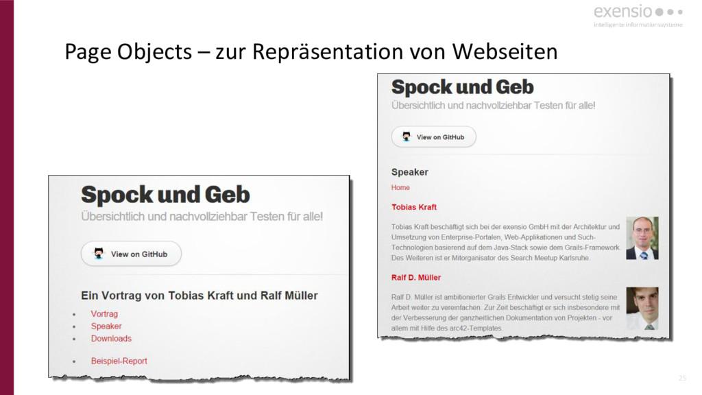 25 Page Objects – zur Repräsentation von Websei...