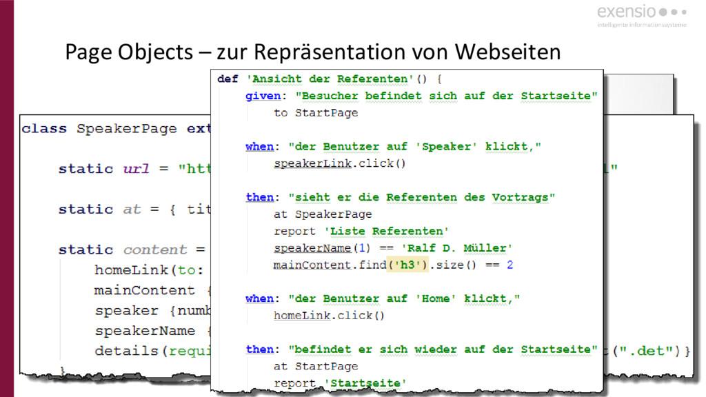27 Page Objects – zur Repräsentation von Websei...