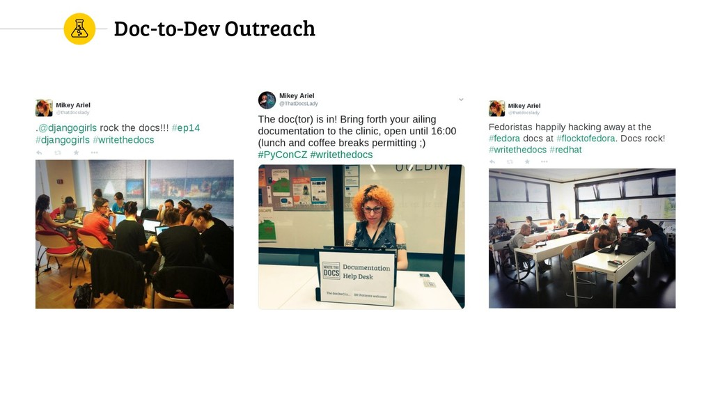 Doc-to-Dev Outreach