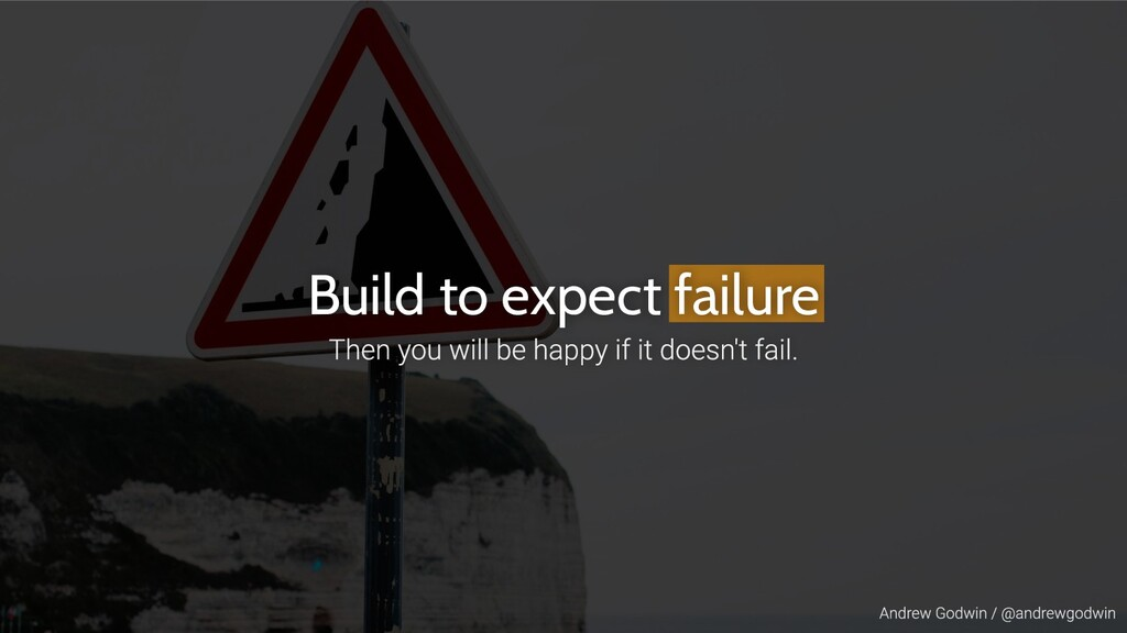 Build to expect failure