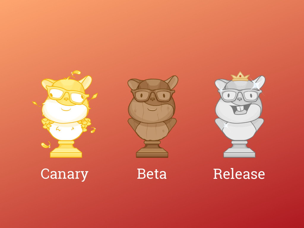 Release Beta Canary
