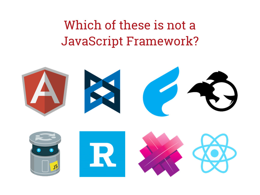 Which of these is not a JavaScript Framework?