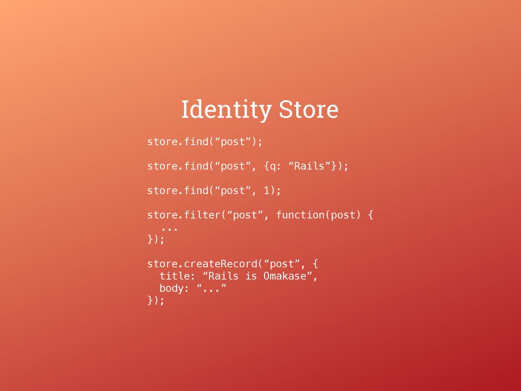 "store.find(""post""); store.find(""post"", {q: ""Rai..."
