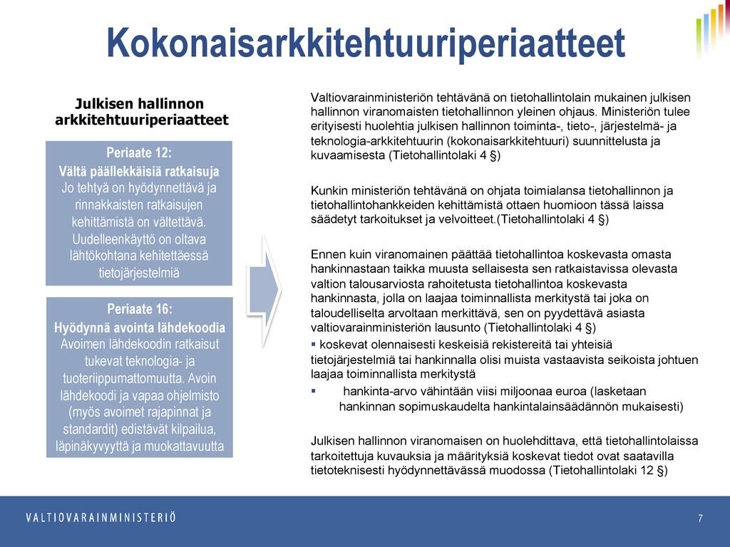 20.6.2013 JulkICT Kokonaisarkkitehtuuriperiaatt...