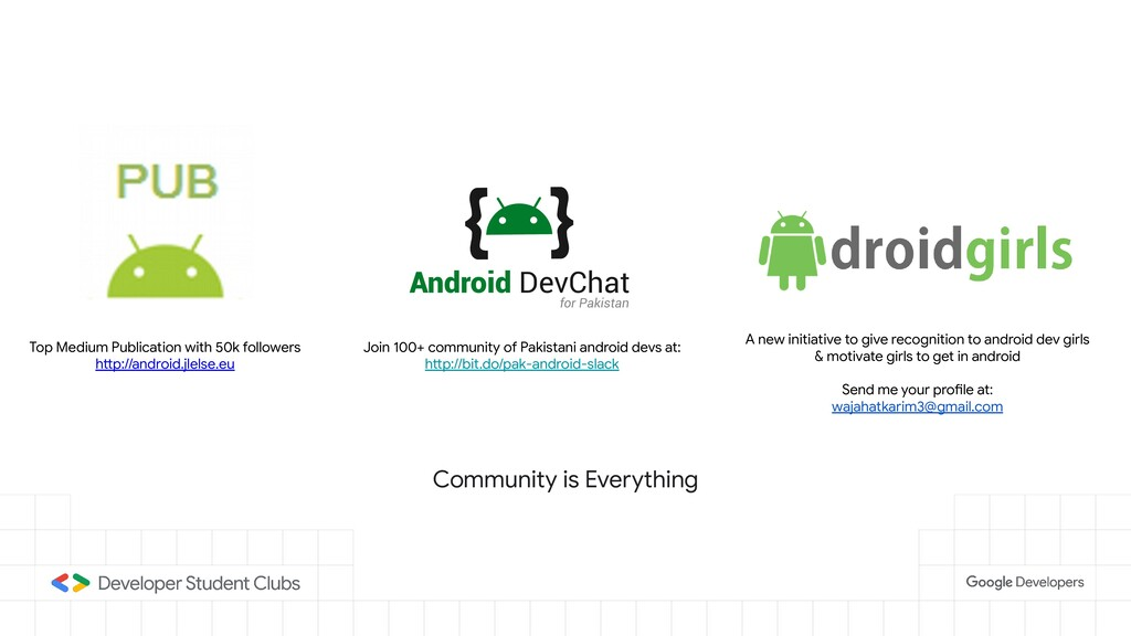Join 100+ community of Pakistani android devs a...
