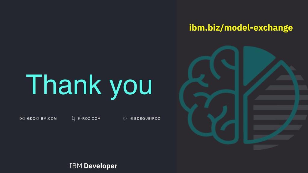 Thank you GDQ@IBM.COM K-ROZ.COM @ G D E Q U E I...