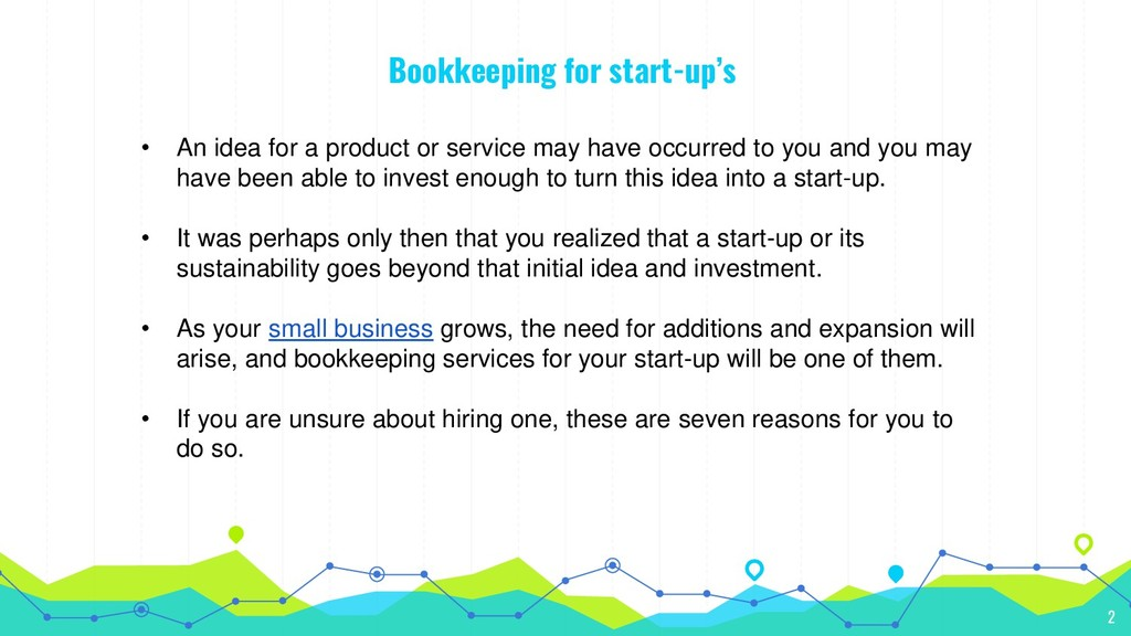 Bookkeeping for start-up's • An idea for a prod...