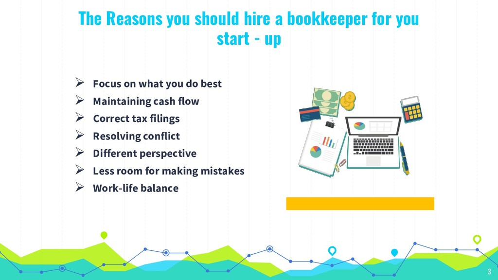 The Reasons you should hire a bookkeeper for yo...