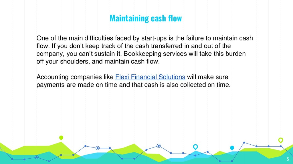 Maintaining cash flow One of the main difficult...