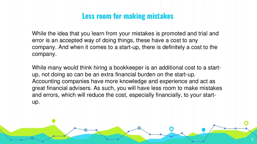 Less room for making mistakes While the idea th...