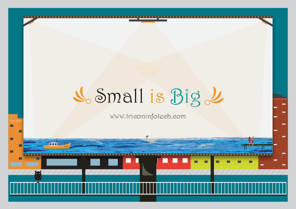 Tiny Town WOW Small is Big www.triconinfotech.c...
