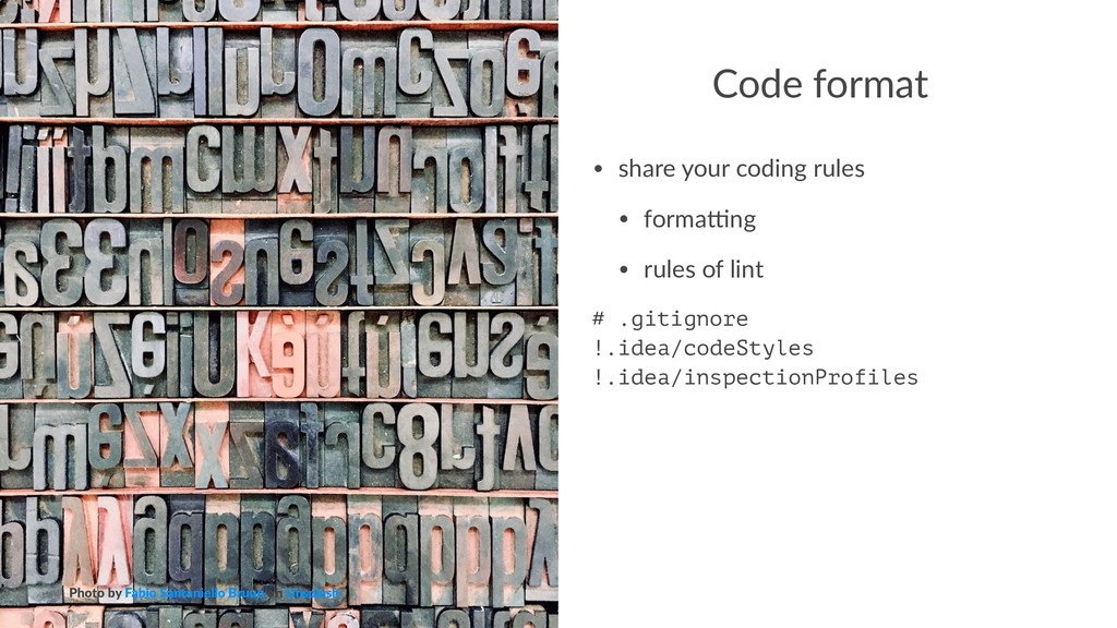 Code format • share your coding rules • forma3n...