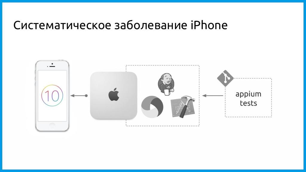 Систематическое заболевание iPhone