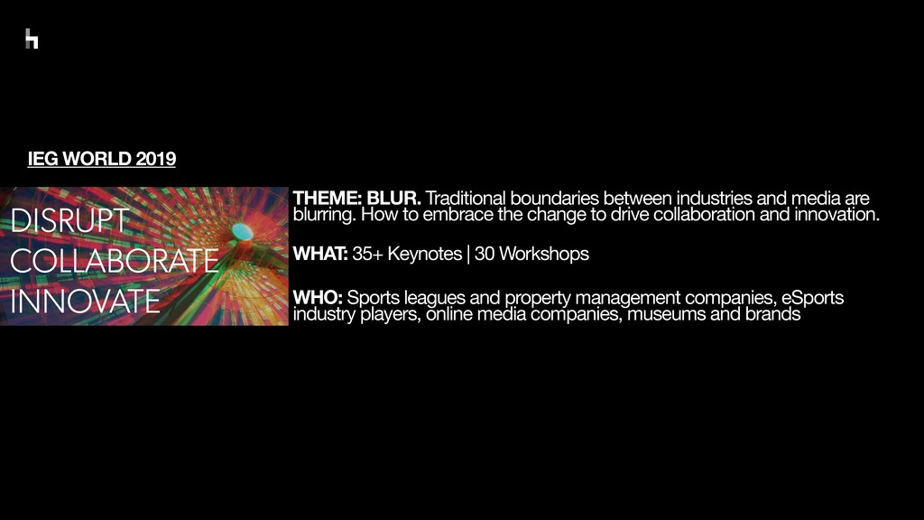 THEME: BLUR. Traditional boundaries between ind...
