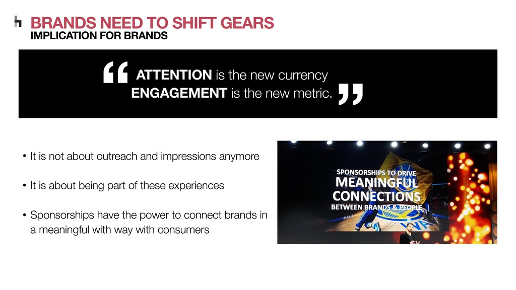 ATTENTION is the new currency ENGAGEMENT is the...