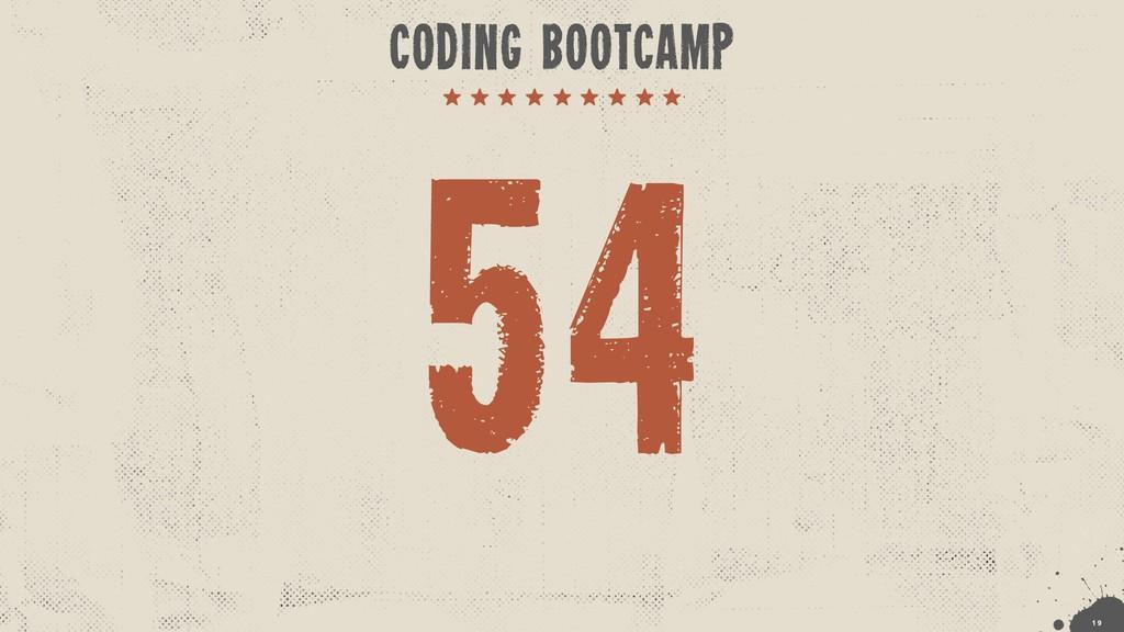 !1 9 CODING BOOTCAMP 54
