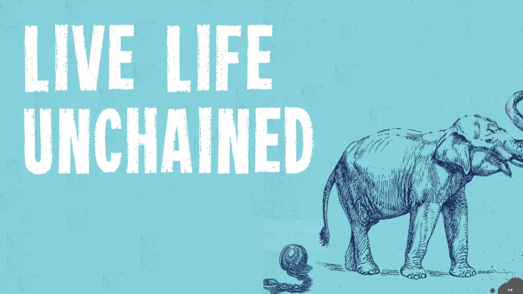 LIVE LIFE UNCHAINED !3 8