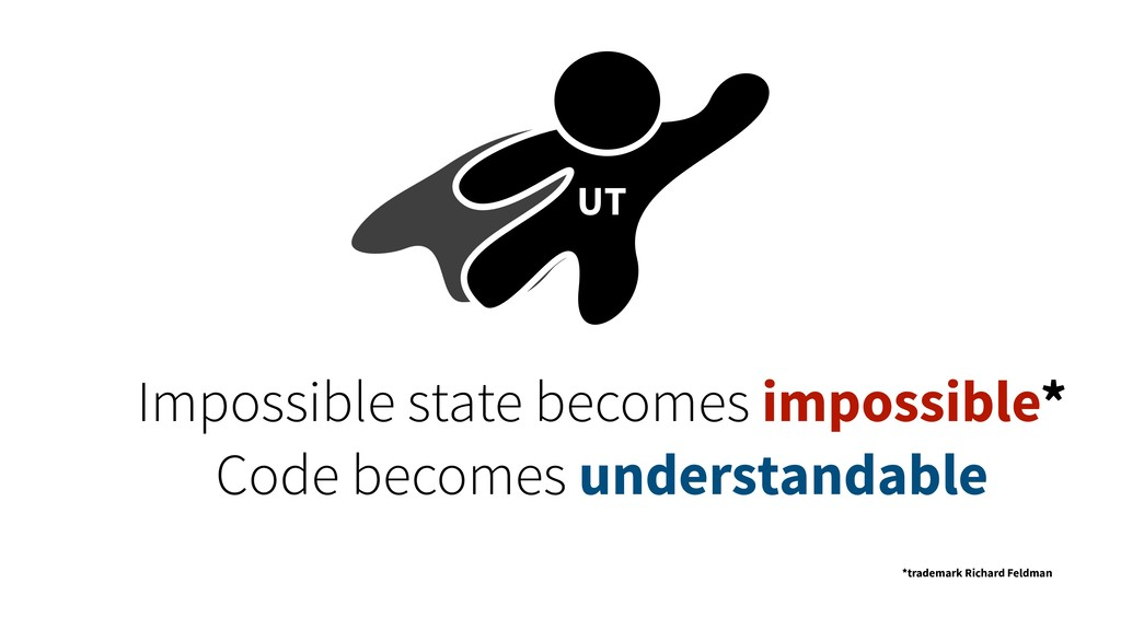 UT Impossible state becomes impossible* Code be...