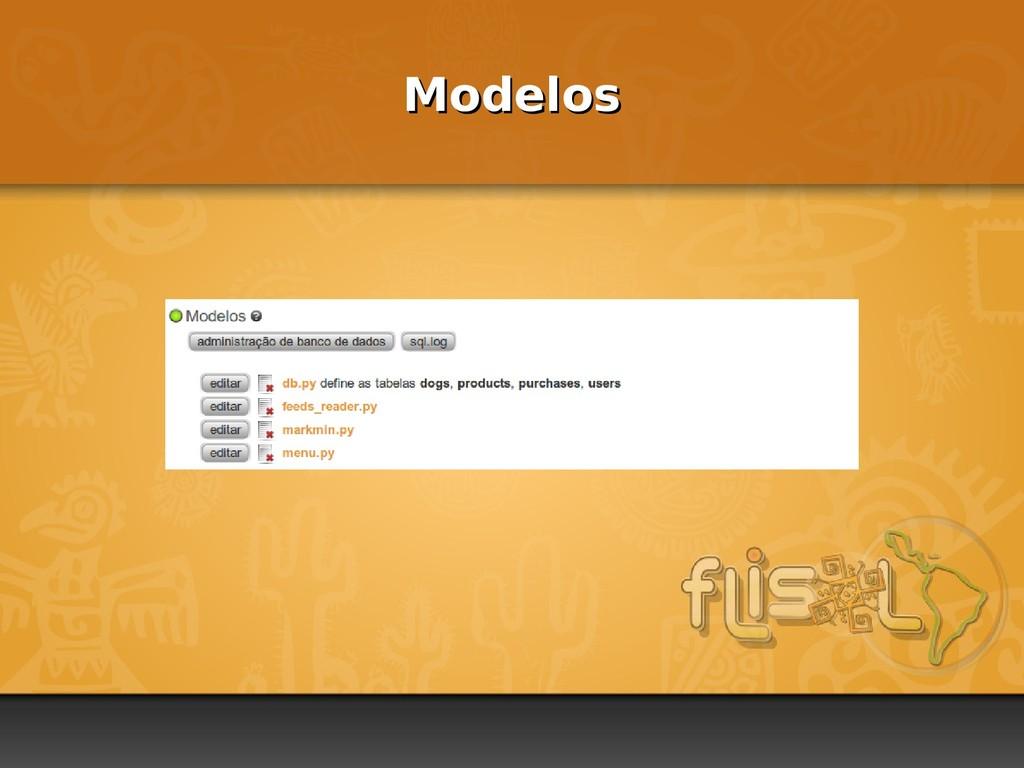 Modelos Modelos