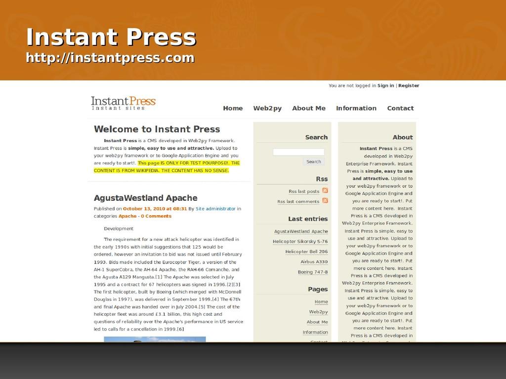 Instant Press Instant Press http://instantpress...