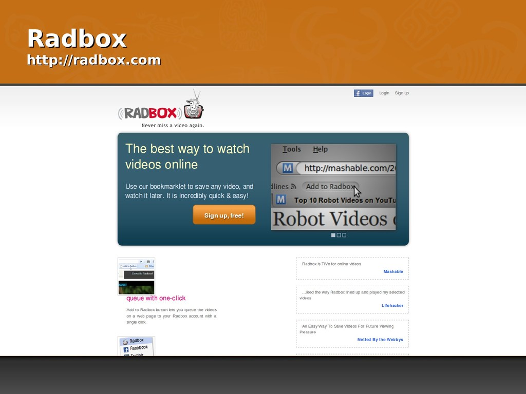 Radbox Radbox http://radbox.com http://radbox.c...