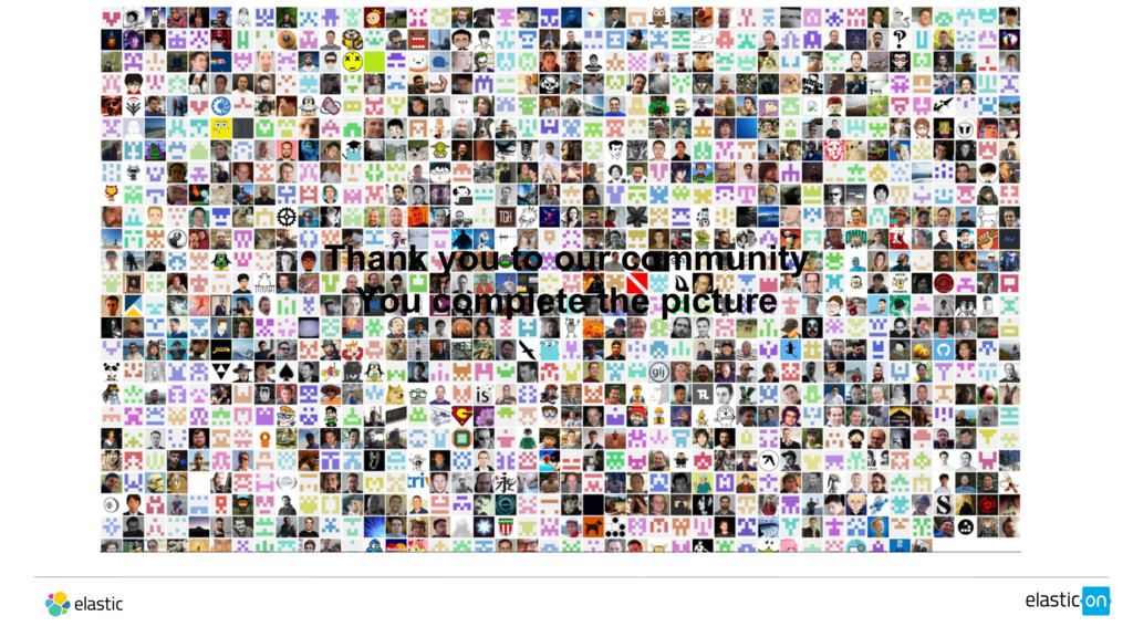 Thank you to our community You complete the pic...