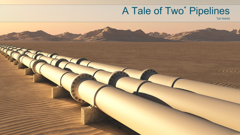 17 A Tale of Two* Pipelines *(or more)