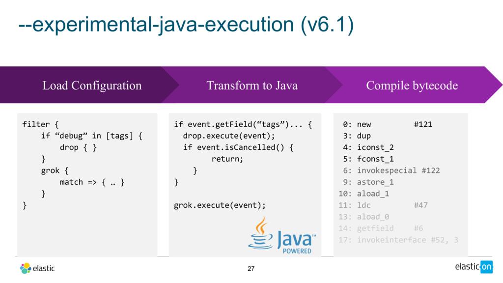 --experimental-java-execution (v6.1) 27 0: new ...
