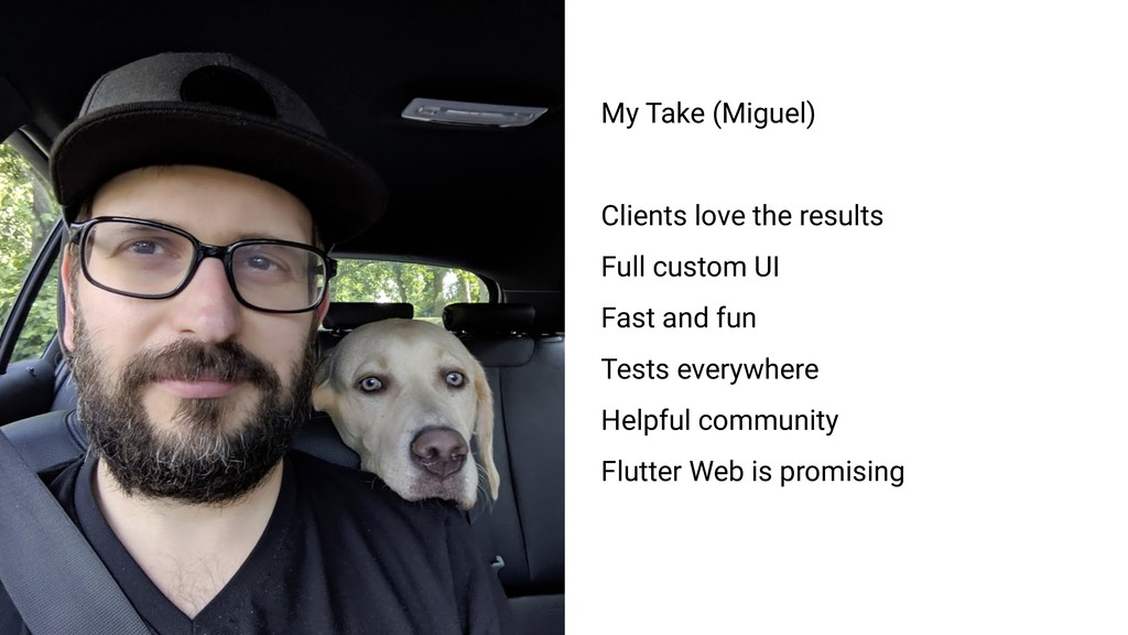 My Take (Miguel) Clients love the results Full ...