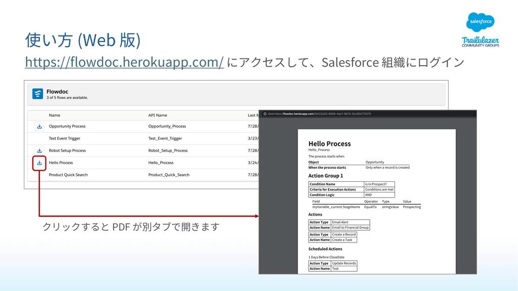(Web ) https://flowdoc.herokuapp.com/ Salesforc...