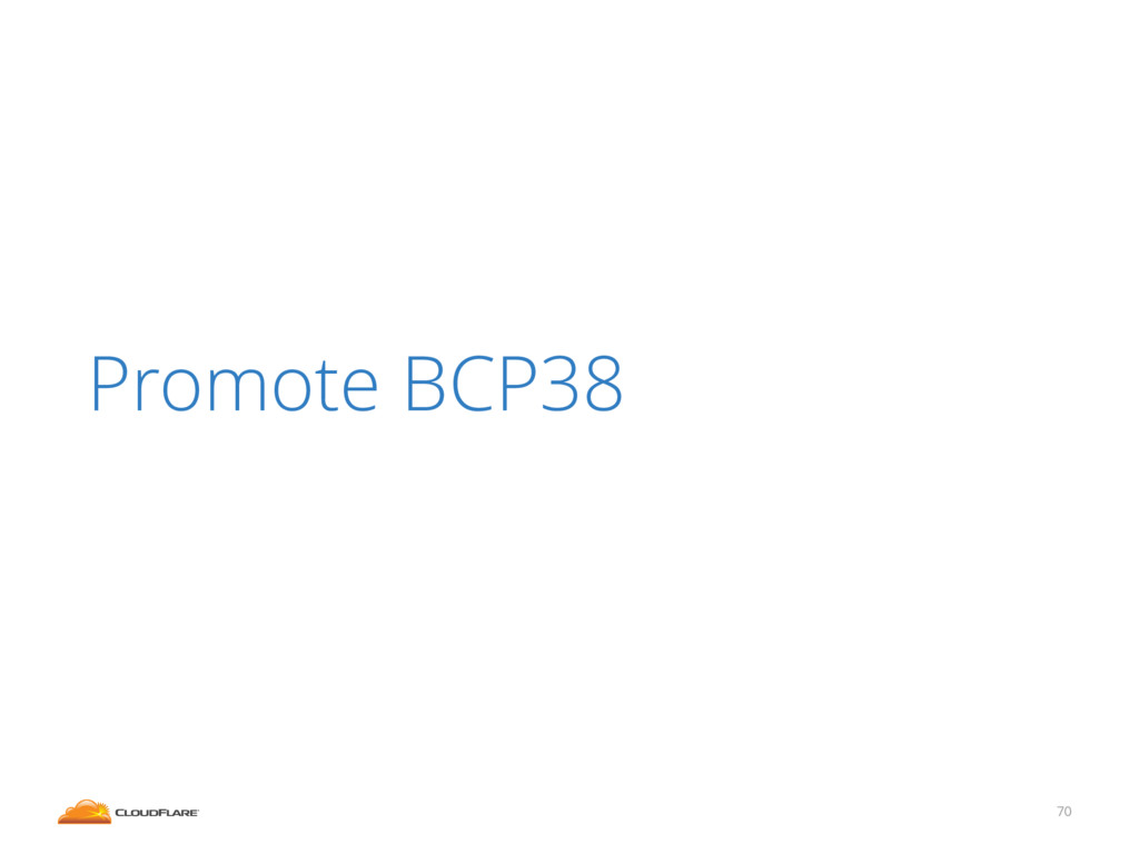 70 Promote BCP38