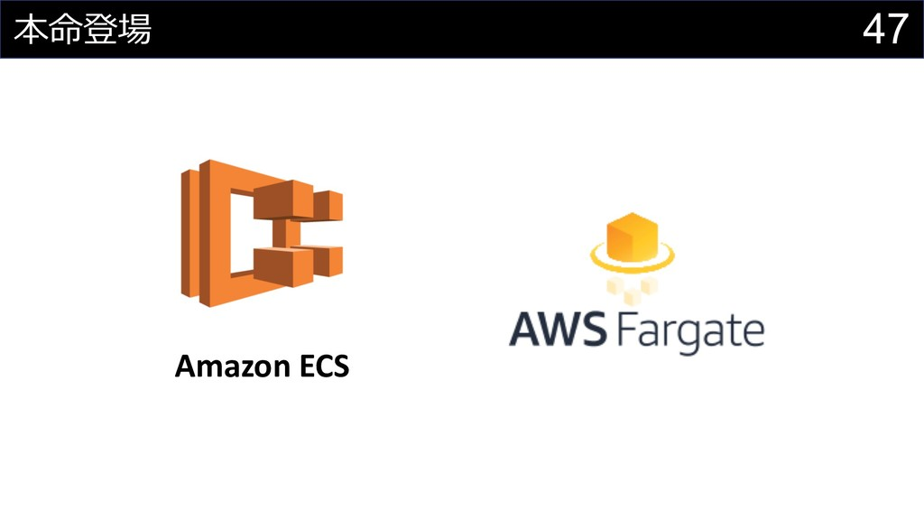 47  Amazon ECS